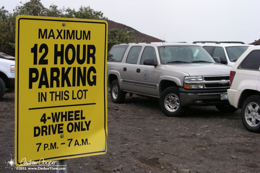 4WD parking Only
