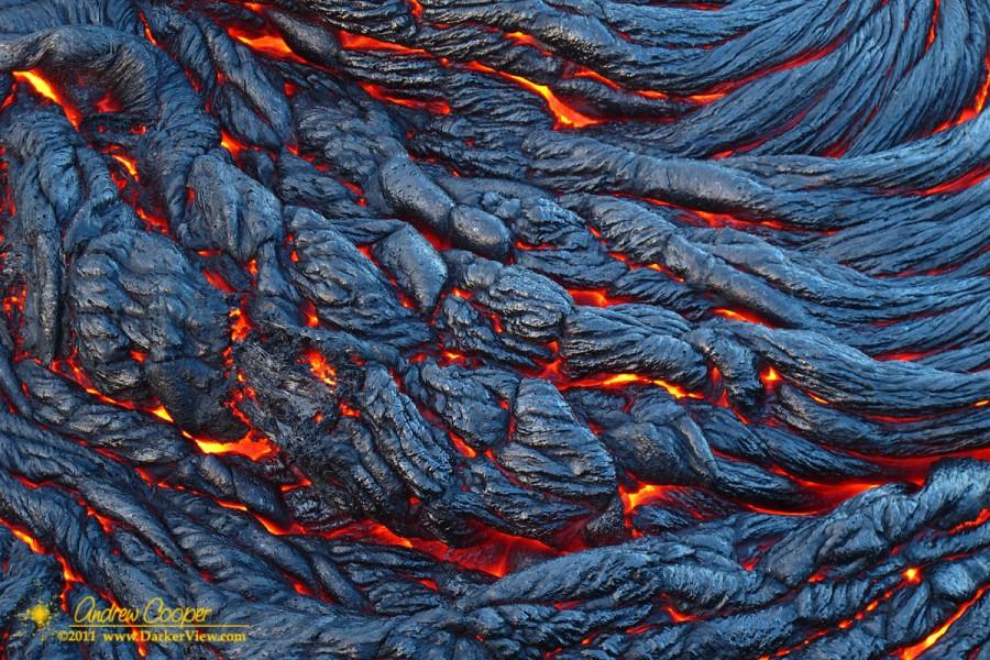 Cooling Lava