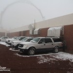 Snowy Parking