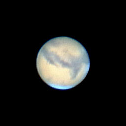 Mars during the 2005 opposition