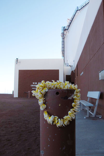 An Offering at Keck