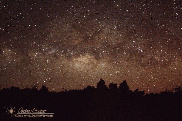 MIlky Way over A&#039;a
