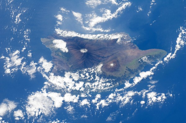 Big Island from ISS