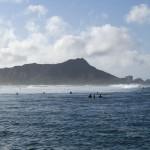 Surf to Diamond Head