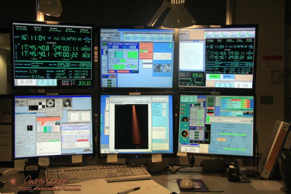 Keck 1 Operator's Station