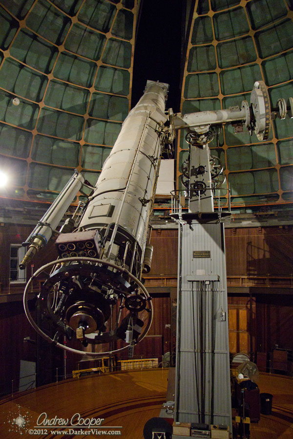 Small lick observatory shutter operation what