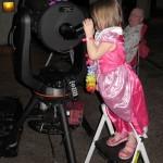 Princess at the Telescope