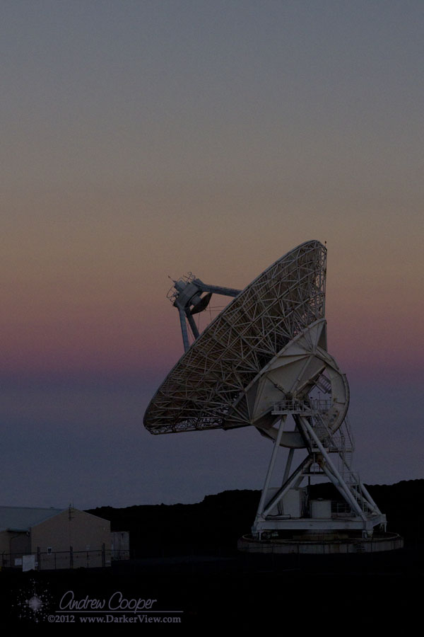 VLBA  and Belt of Venus