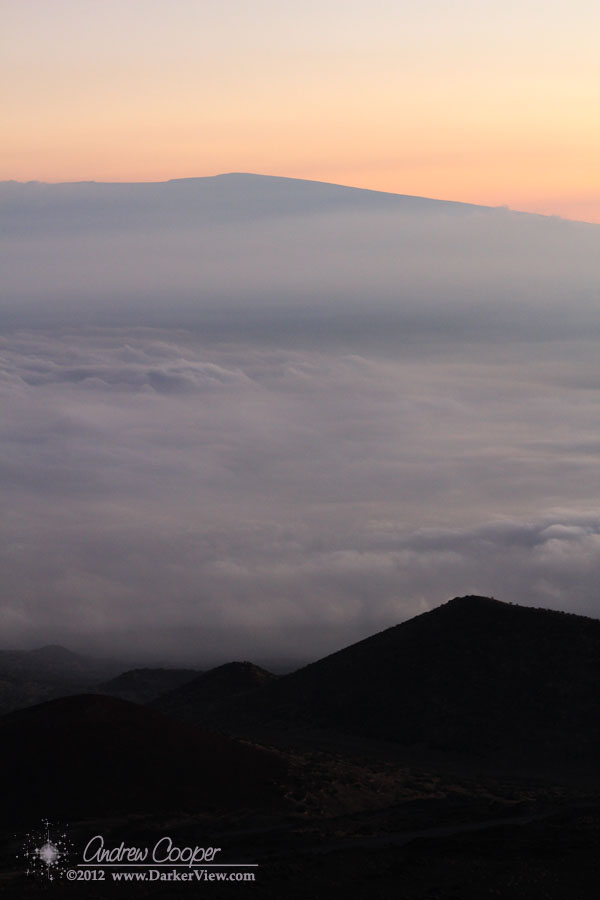 Mauna Loa in the Haze
