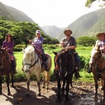 Riding Waipio