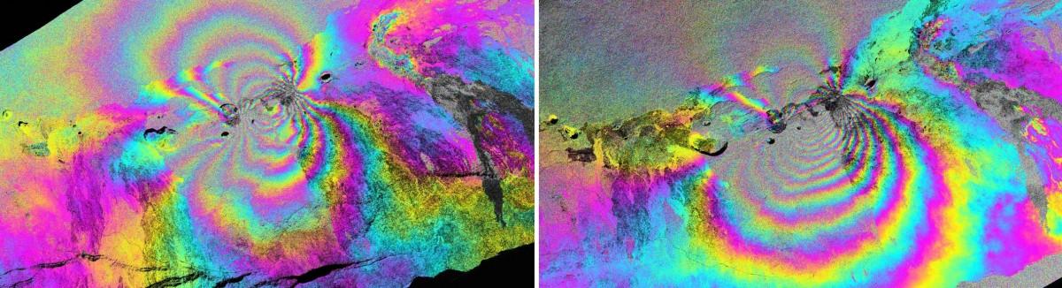 UAVSAR image of Kilauea