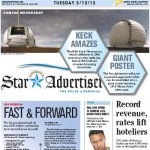 Star Advertiser Front Page 20130312