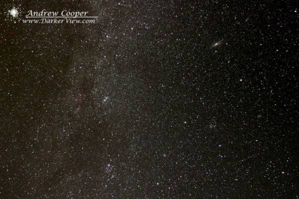 Cassiopeia and Perseus