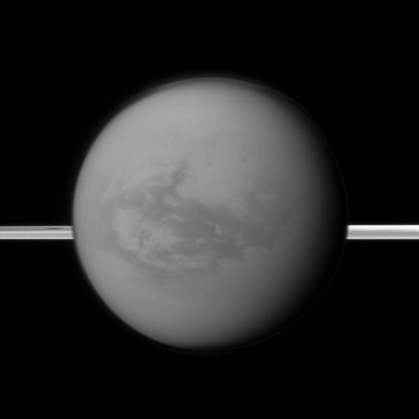 Titan before Rings