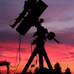 Scope at Sunset
