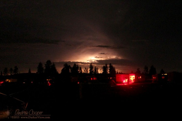 Lightning over OSP