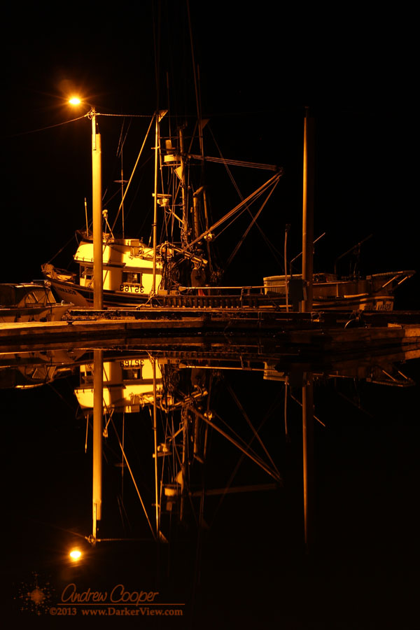 Tenakee Docks at Night