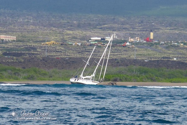 Sailboat on the Reef