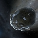 Watery Asteroid
