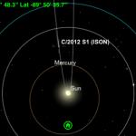 Sky Safari ISON Orbit