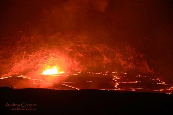 Halemaʻumaʻu Lava Lake