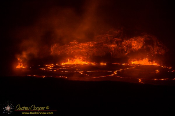 Lava Lake at Halemaʻumaʻu