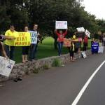 TMT Protest in Waimea