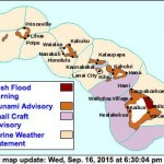 Hawaiian advisories for 16Sep2015