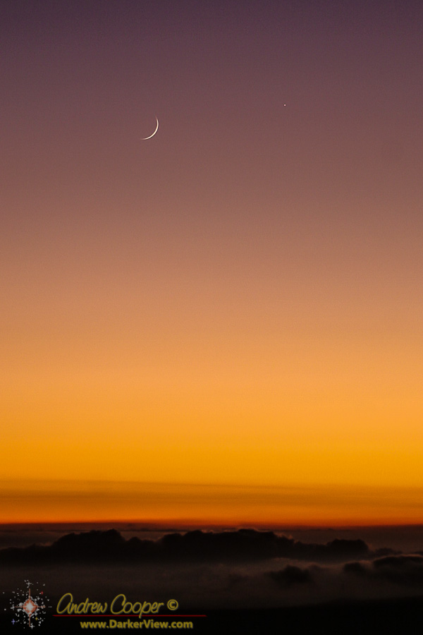Moon and Mercury