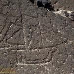 Hawaiian Petroglyph
