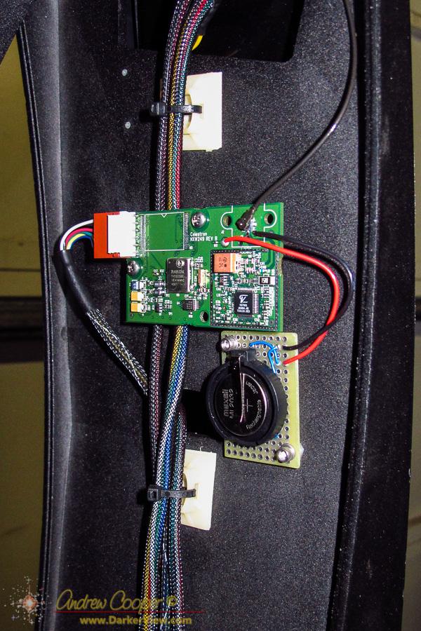 Battery Holder Installed