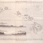 Map of the Hawaiian Islands 1835
