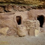 Horsecollar Ruins, an Ancestral Puebloan (Anasazi) site in Armstrong Canyon, Natural Bridges National Monument