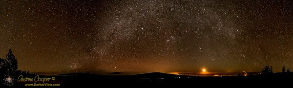 MIlky Way Arching over Hualālai