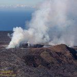 The currently active Puʻu Oʻo vent on Kilauea