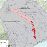 Kilauea lava flow map for 8July2016
