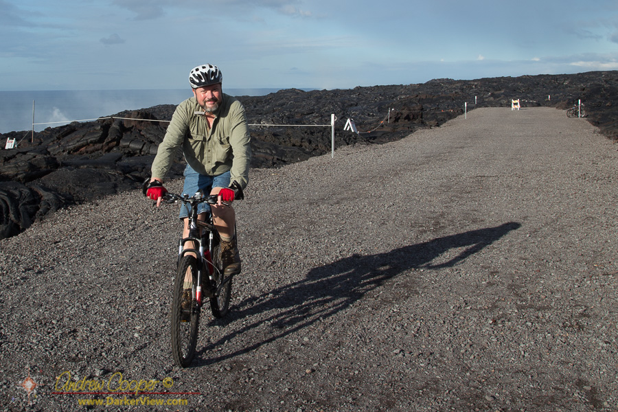 Riding to the Lava