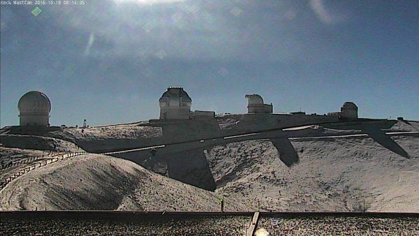 Mauna Kea Summit Snow