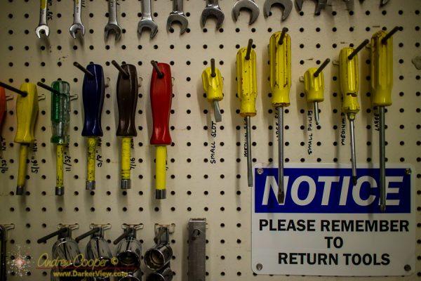 Please Return Tools