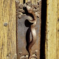 Rattlesnake Door Handle