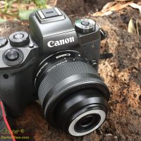 EOS M5 and 28mm f/3.5 macro lens
