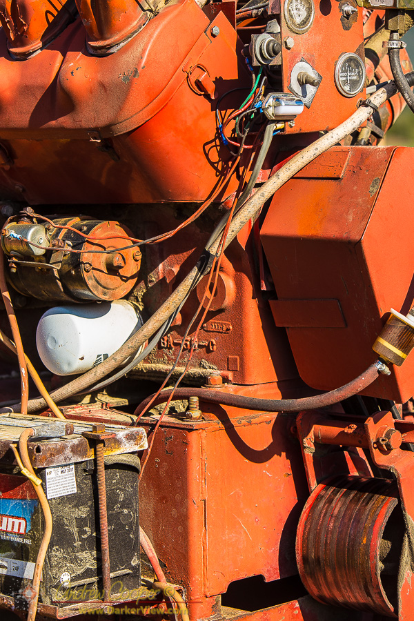 Hay Baler Engine