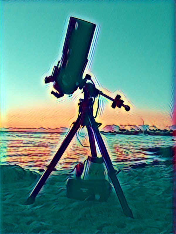 Telescope on the Beach