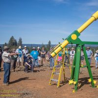 """Kreig McBride's shows off his classic 8"""" refractor at OSP 2017"""