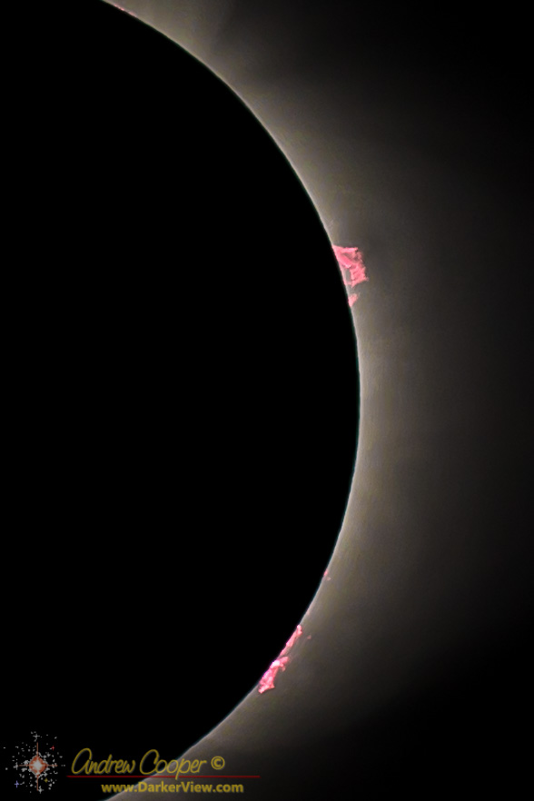 Eclipse Prominences
