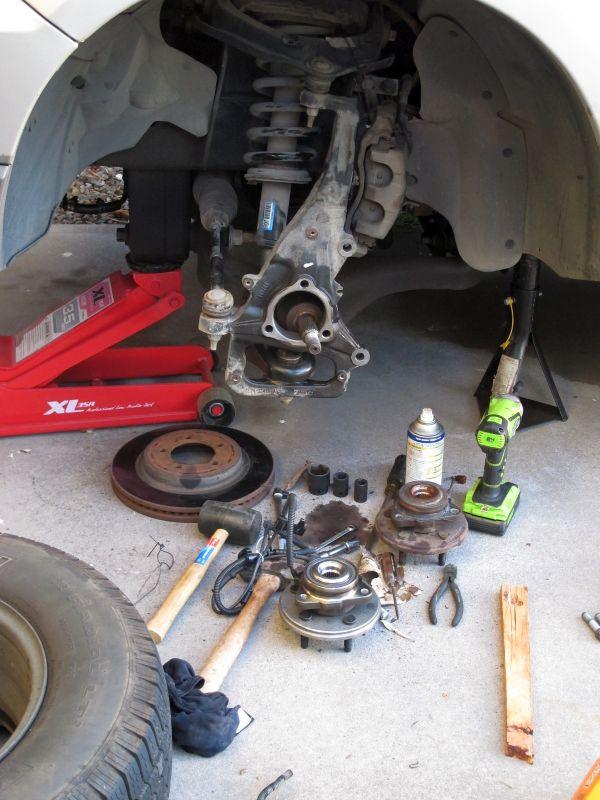 Ford Explorer Front Bearing Repair