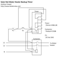 Solar Hot Water Heater Timer