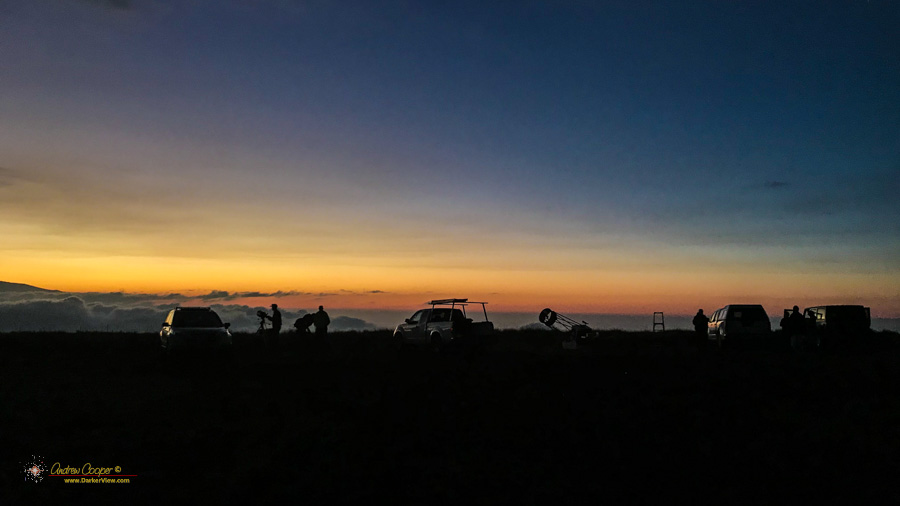 Star Party Sunset