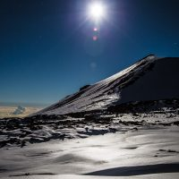 Moonlight on Snow