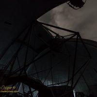 Keck 1 dome at night